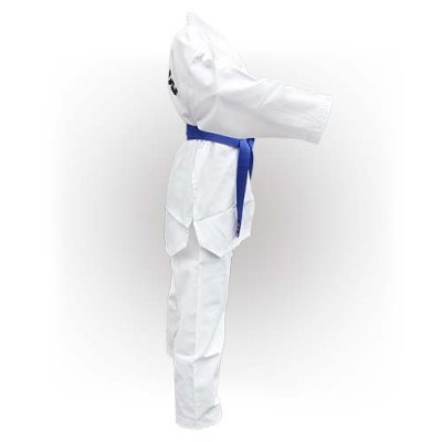 Taekwondo Uniform WTF, Saman, Basic, cotton/poly, white, 120 méret