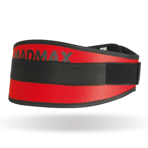 Weight-lifter belt, Madmax, Simply The Best, Piros szín, L size