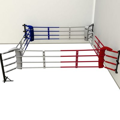 Fitness ring, Saman, 3x3m, 4 ropes