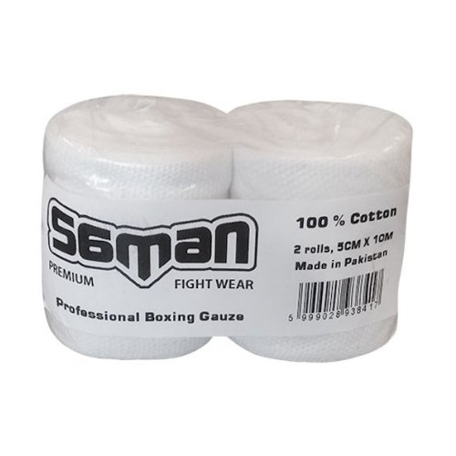 Gauze, Saman, Premium, 10m x 5 cm, cotton