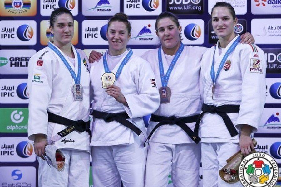 Eredményes magyar versenyzők a Judo Grand Slam-viadalon Abu-Dzabiban