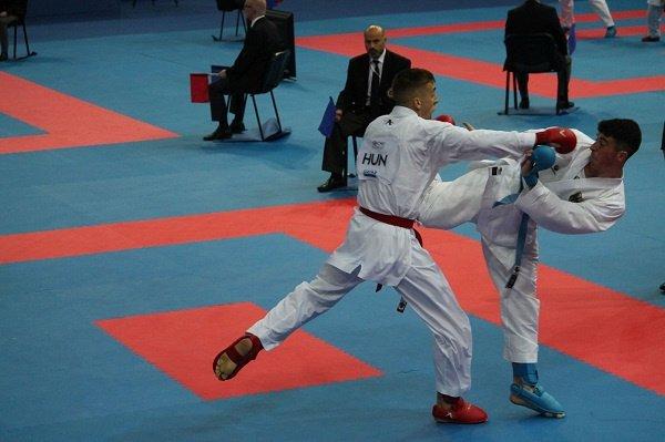 Három magyar érem a karate Eb-n