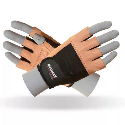 Fitness Gloves, Madmax, Fitness, unisex, Barna szín, S size