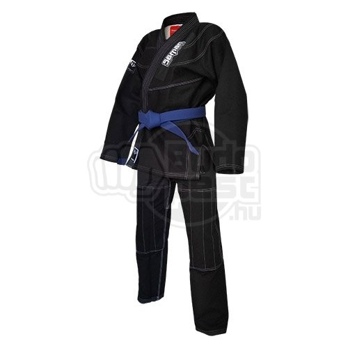 Ju-Jitsu ruha, Saman, Mushin, 450g, fekete