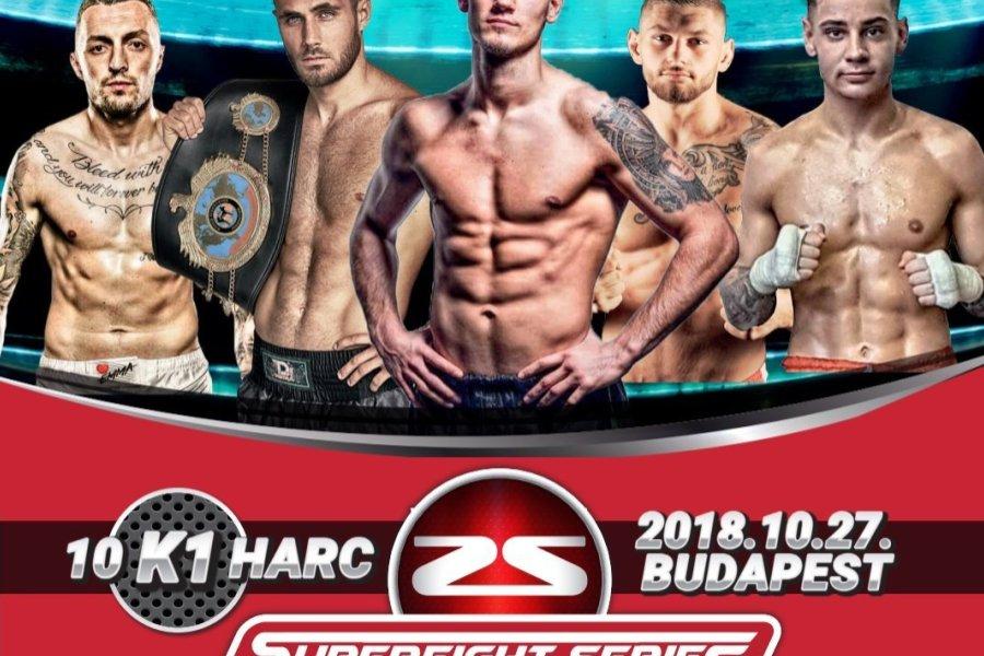 Superfight Series Hungary október 27-én