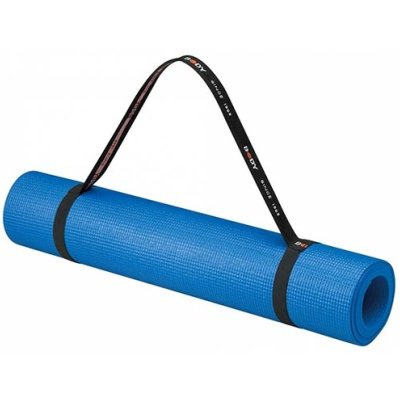 Yoga mat, Body Sculpture, with carrying strap, blue