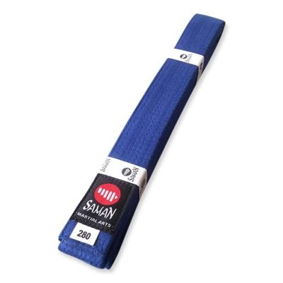 Belt, Saman, cotton, blue