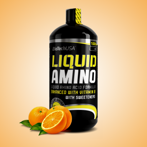 Biotech, Liquid Amino, 1000 ml, Orange