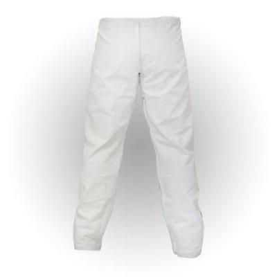 BJJ / Ju-Jitsu nadrág, Saman, Ripstop, 10 oz, fehér, A4 (190 cm) méret