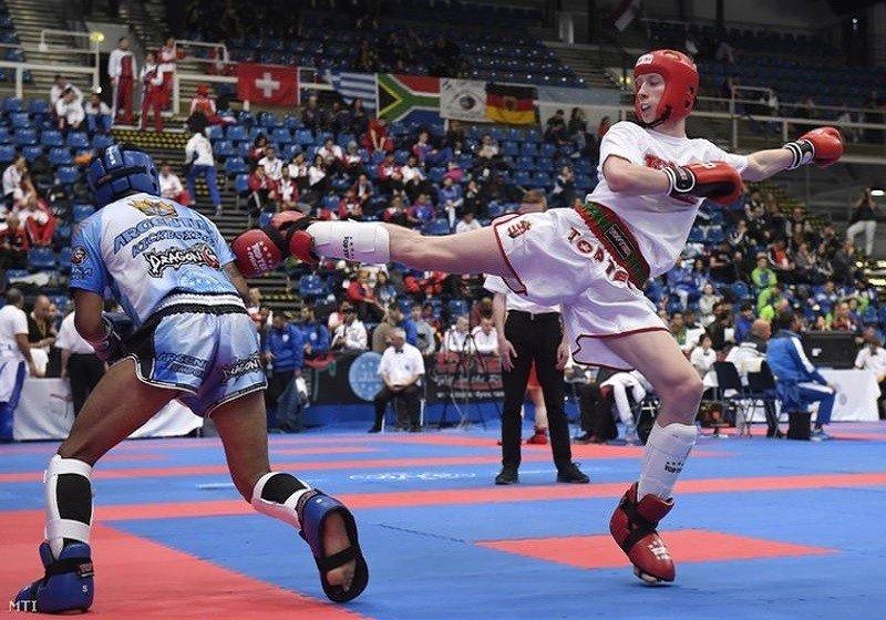 Csapatbronz a kick-box világkupán