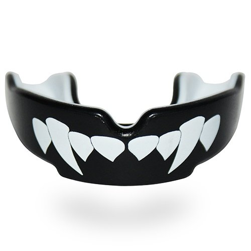 Mouthguard, SAFEJAWZ, Vampire, Gel, Black, JR méret