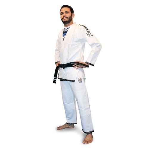 BJJ uniform, Top Ten, Easy, white