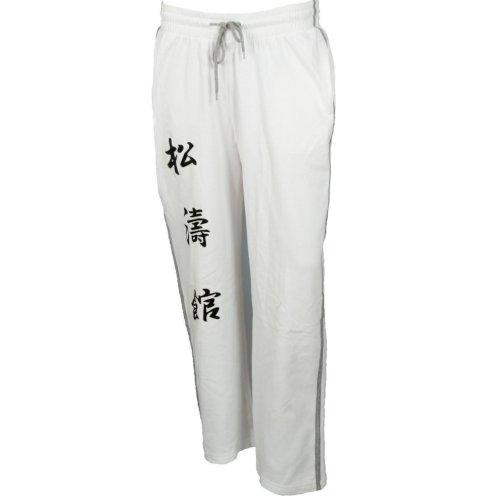 Melegítő nadrág, Hayashi, Kanjin, Fehér szín, S méret