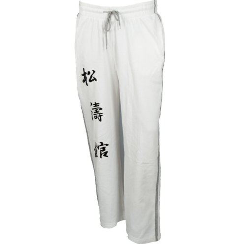 Melegítő nadrág, Hayashi, Kanjin, Fehér szín, M méret