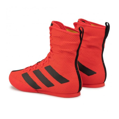 Boxing shoes, adidas, BoxHog 3, red