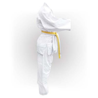 Judo uniform, Saman, Beginner, white, 120 cm size