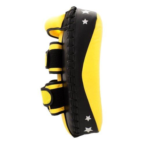 Curved shield, Top Ten, Thaipad Slanty, artificial leather, Citromsárga-fekete szín