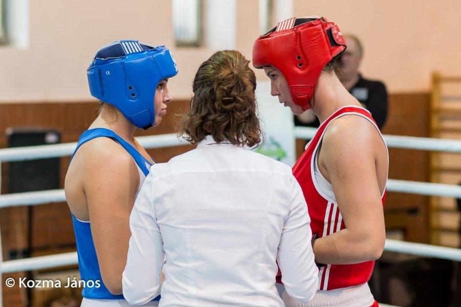 Kiemelkedő teljesítményt nyújtott Szatmári Petra a női országos ökölvívó bajnokságon