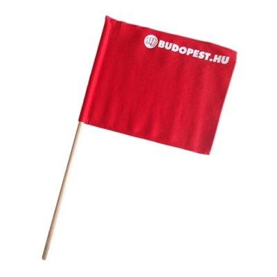 Bírói zászló, Kyokushin, piros