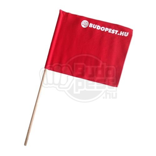 Referee flag, Kyokushin, red