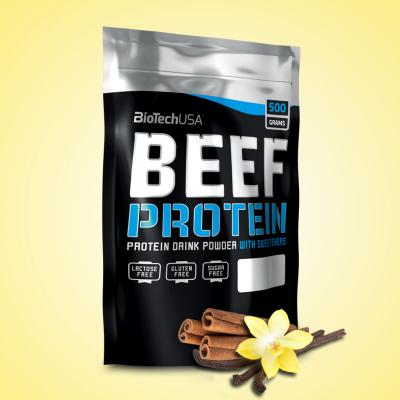 Biotech Beef Protein, 500 g, Vanilla-Cinnamon