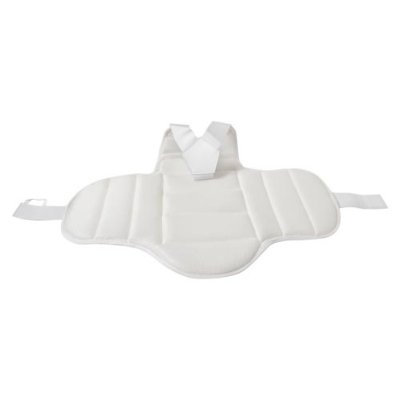 Karate chest guard, Saman, white, L méret