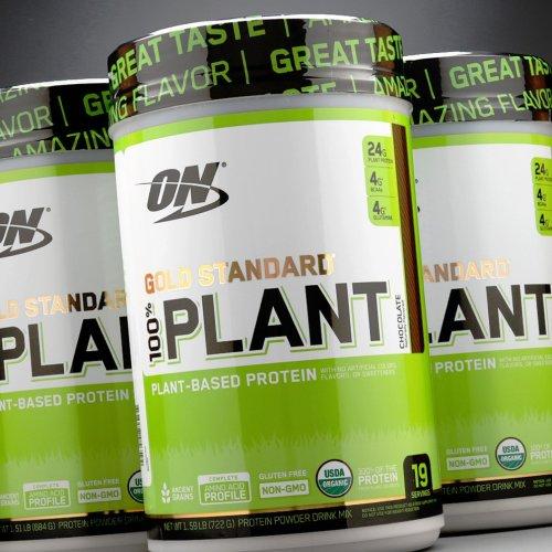 ON, 100% Gold Standard Plant Növényi Fehérje, 684 g, 3 ízben