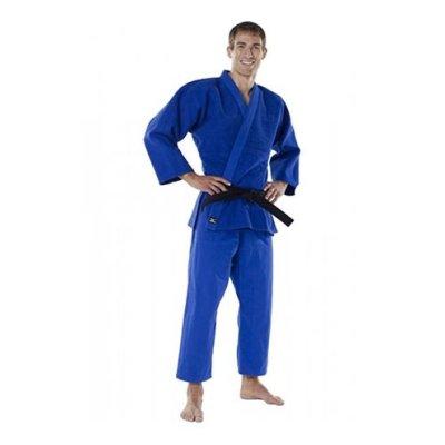 Judo ruha, Mizuno, Shiai, 930g, kék, 190 cm (5.0) méret