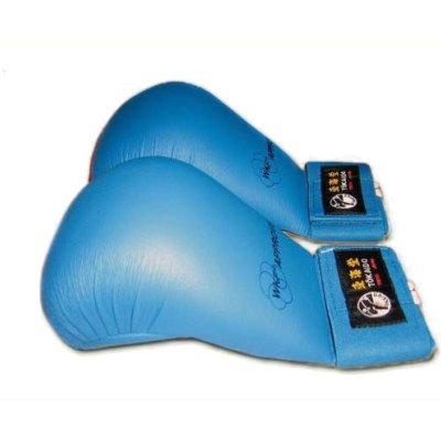 Seikenvédő, Tokaido, WKF, műbőr, kék, L méret