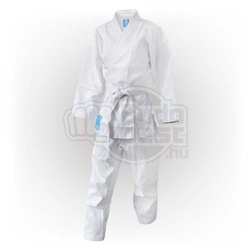 Karate Uniform, Saman, Hanami Saman with belt, white, cotton/poly, 200 size