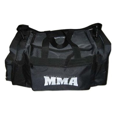 Sport bag, Saman, MMA, black, large