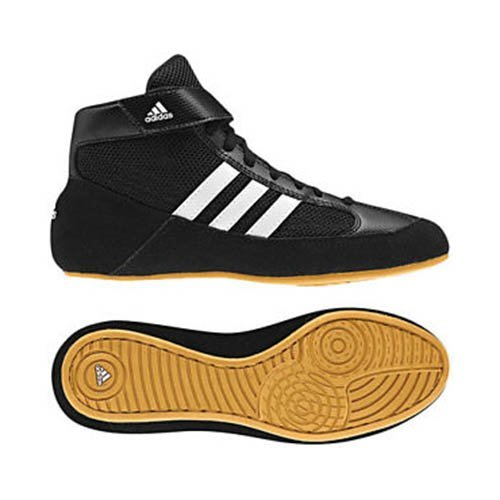 Wrestling shoes, adidas, HVC K, for kids, 27 size