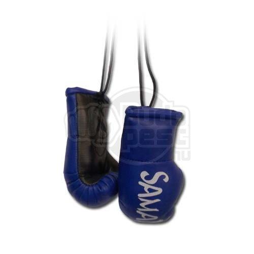 Dísz boxkesztyű, Saman, felakasztós, párban, kék