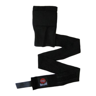 Wrist wrap Pro, Saman, cotton, with 1 m long bandage, XL size