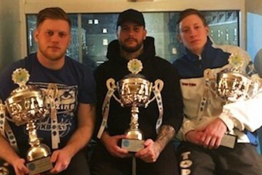 Mindhárom Veres-fivér világkupa aranyat nyert kick-boxban