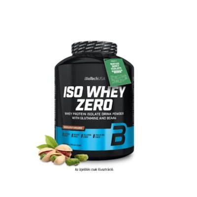 Biotech, Iso Whey Zero, Lactose Free, 2270 g, 18 ízben, Vaníliás fahájas csiga ízek