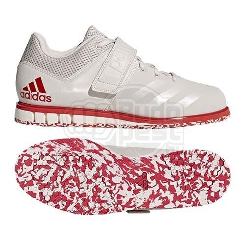 Súlyemelő cipő, adidas, Powerlift 3.1, fehérpiros