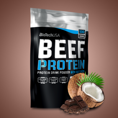 Biotech Beef Protein, 500 g, Chocolate-Coconut