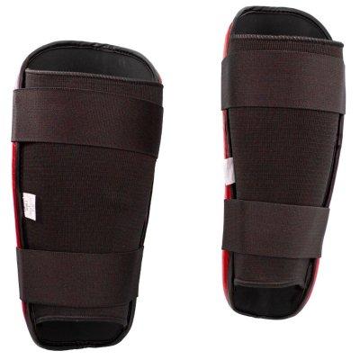 Shin Guard, Top Ten, WAKO Style, Piros szín, XS size