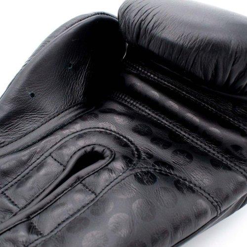 Boxkesztyű, Top Ten, Wrist Star, Fekete szín, 12 oz méret