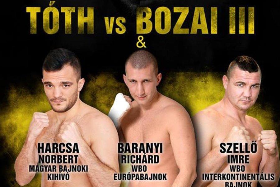 Egy WBO Europe és egy magyar bajnoki címmel zárja az évet a Felix Promotion