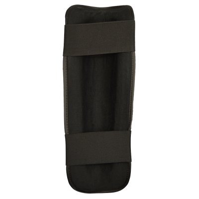 Shin guard, Phoenix, synthetic leather, black, L size
