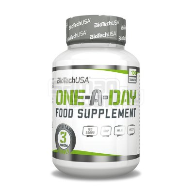 Biotech, One-A-Day vitamin, 100 tabl.
