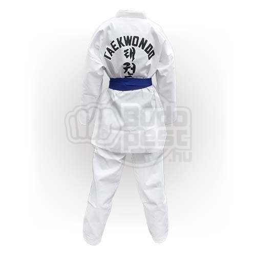 Taekwondo Uniform WTF, Saman, Basic, cotton/poly, white, 190 size