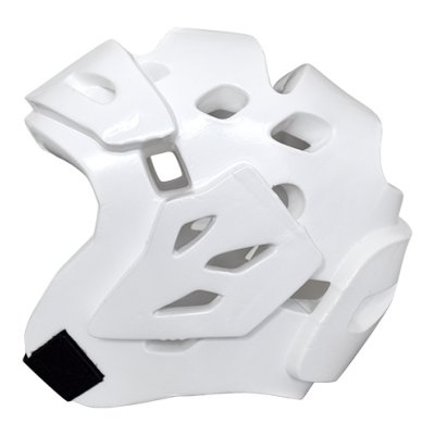 Headguard, Saman, Fight, Dipped foam, white, XL size