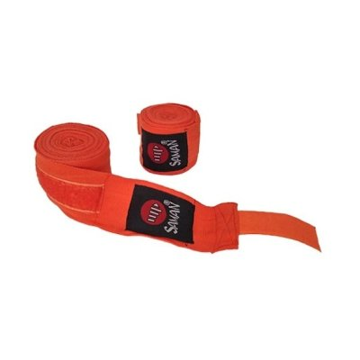 Bandage, Saman, flexible, orange, 350 cm