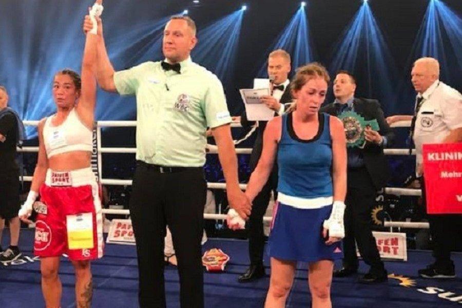 Hatalmas mérkőzést bokszolt a magyar lány