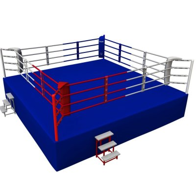 Competition Boxing Ring, Saman, 6x6m, 4 ropes