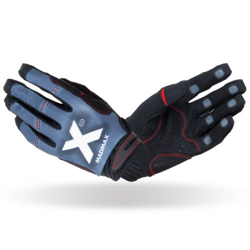 Cross Fit Gloves, Madmax, X Gloves, unisex, Fekete-szürke szín, L size
