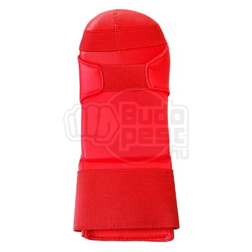 Karate mitt, Saman, Competition, karate, artificial leather, red, XL size